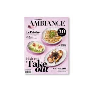Culinaire Ambiance magazine CA02 maart 2021