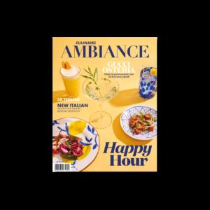 Culinaire Ambiance magazine juni Happy Hour