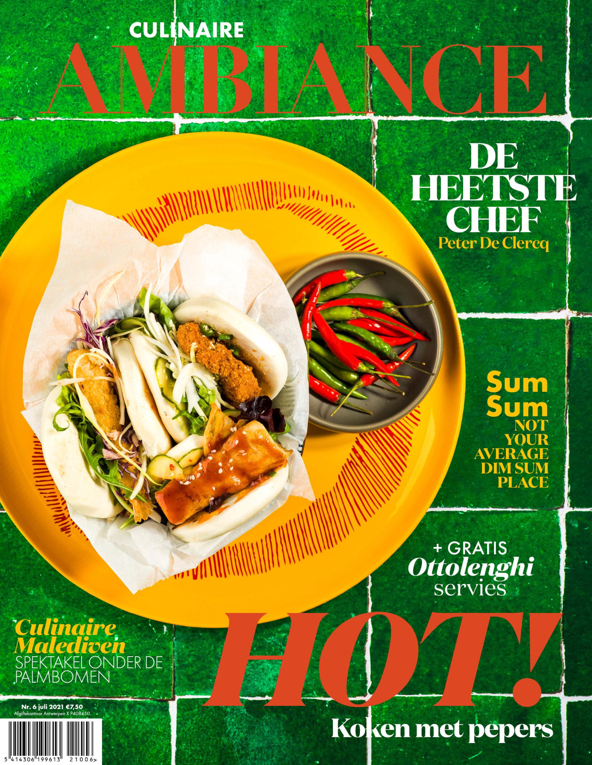 Hot Culinaire Ambiance magazine juli augustus