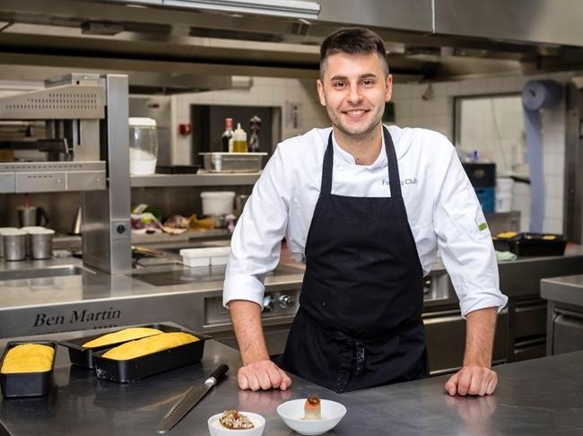 Cum Laude geeft jonge beloftevolle chef een kans