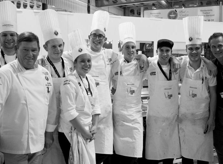 Even voorstellen: De 6 chefs van het Young Chefs Team