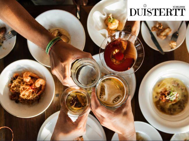DuisteRTT – opmerkelijk evenement van 11 bevriende topchefs