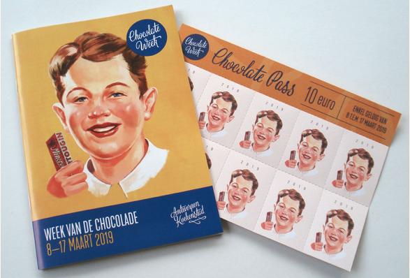 Ode aan de Belgische chocolade tijdens Antwerpse Chocolate Week
