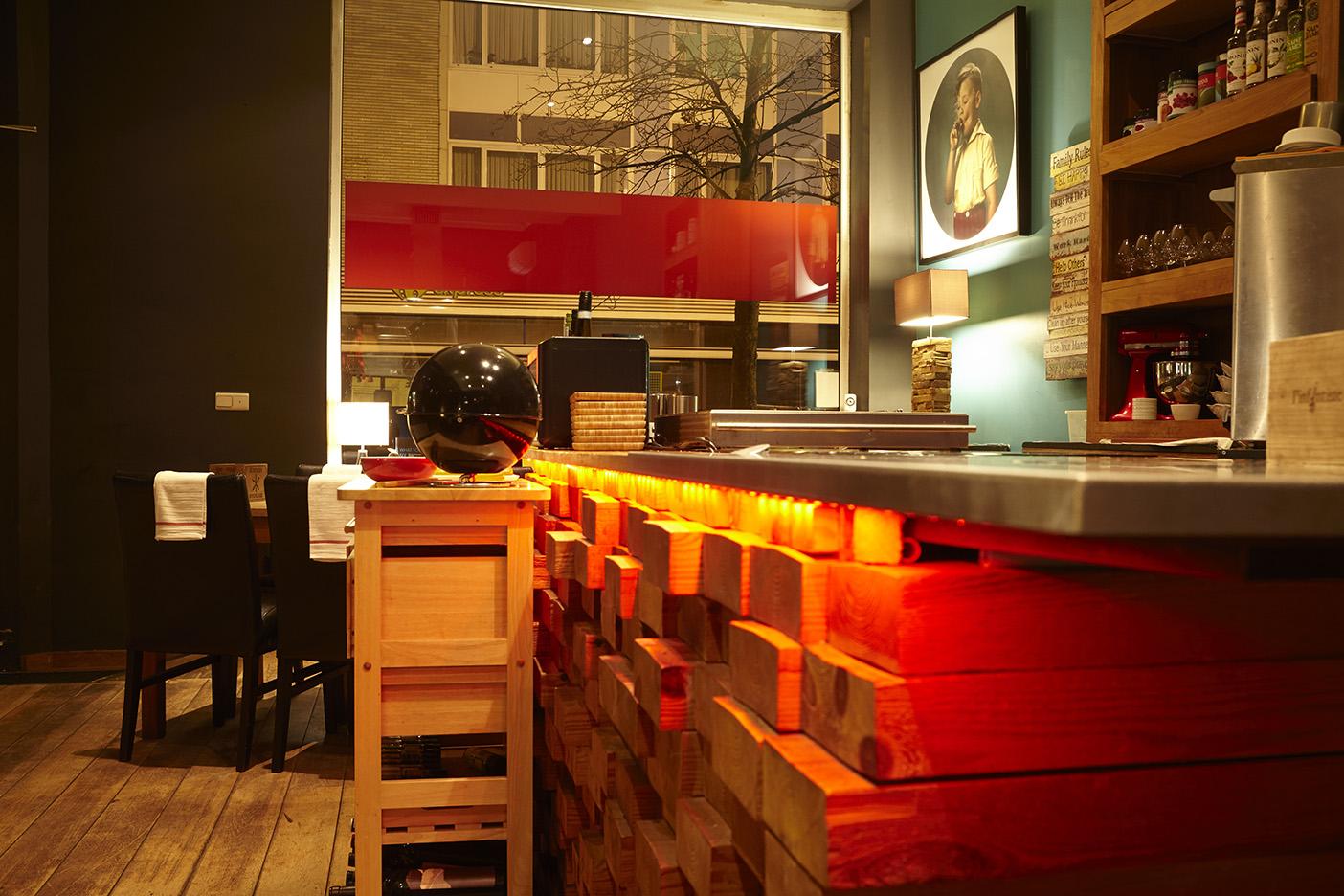 Eetkamer Van Chris.A L Infintiste Culinaire Ambiance