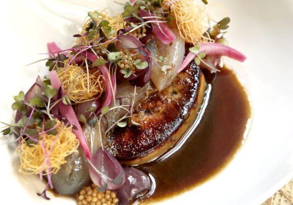 Foie gras – cévenne – Banyuls – mosterd
