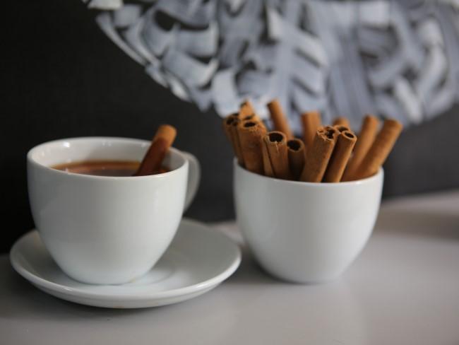 Drink eens kaneelkoffie!