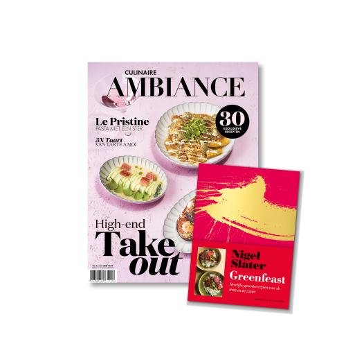 Nigel Slater Greanfeast met Culinaire Ambiance magazine
