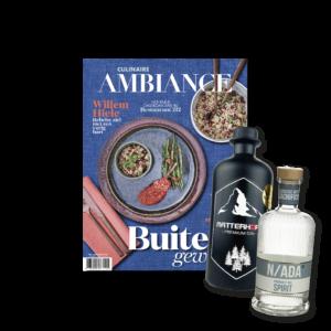 Ambiance magazine abo met Ginsonline gins