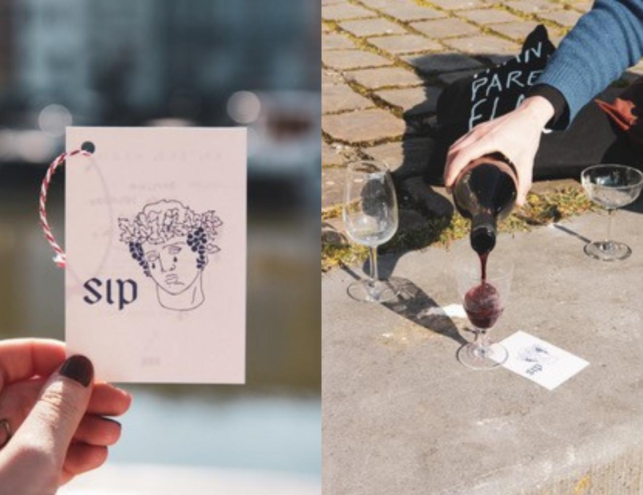 'Ik, jij, wij(n)' wil ik twee vreemden samenbrengen onder het genot van een lekkere fles wijn