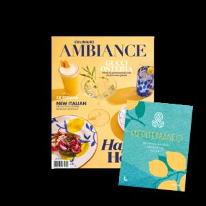 Ambiance magazine en Mediterraneo kookboek