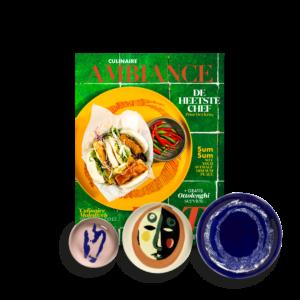 Culinaire Ambiance juli 2021 Ottolenghi bordenset Serax